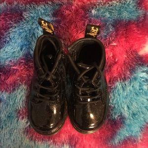 Dr. Martens Toddler Girl's Black Boots Size 6